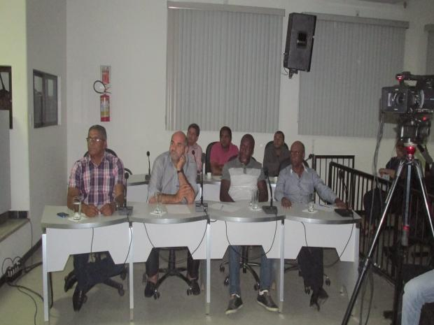Vereadores em palestra de Argenildo
